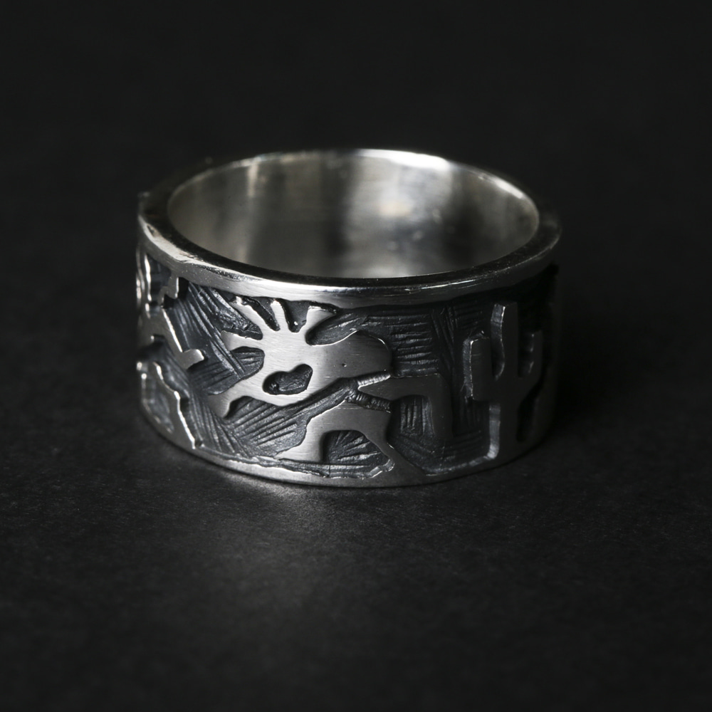 Kokopelli Ring (925 Silver)