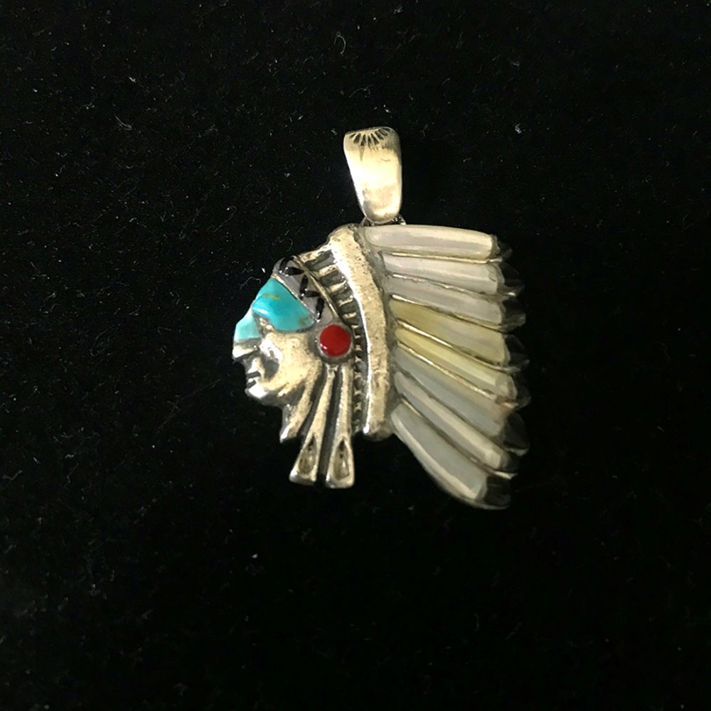 Chief Pendant (Silver 925)