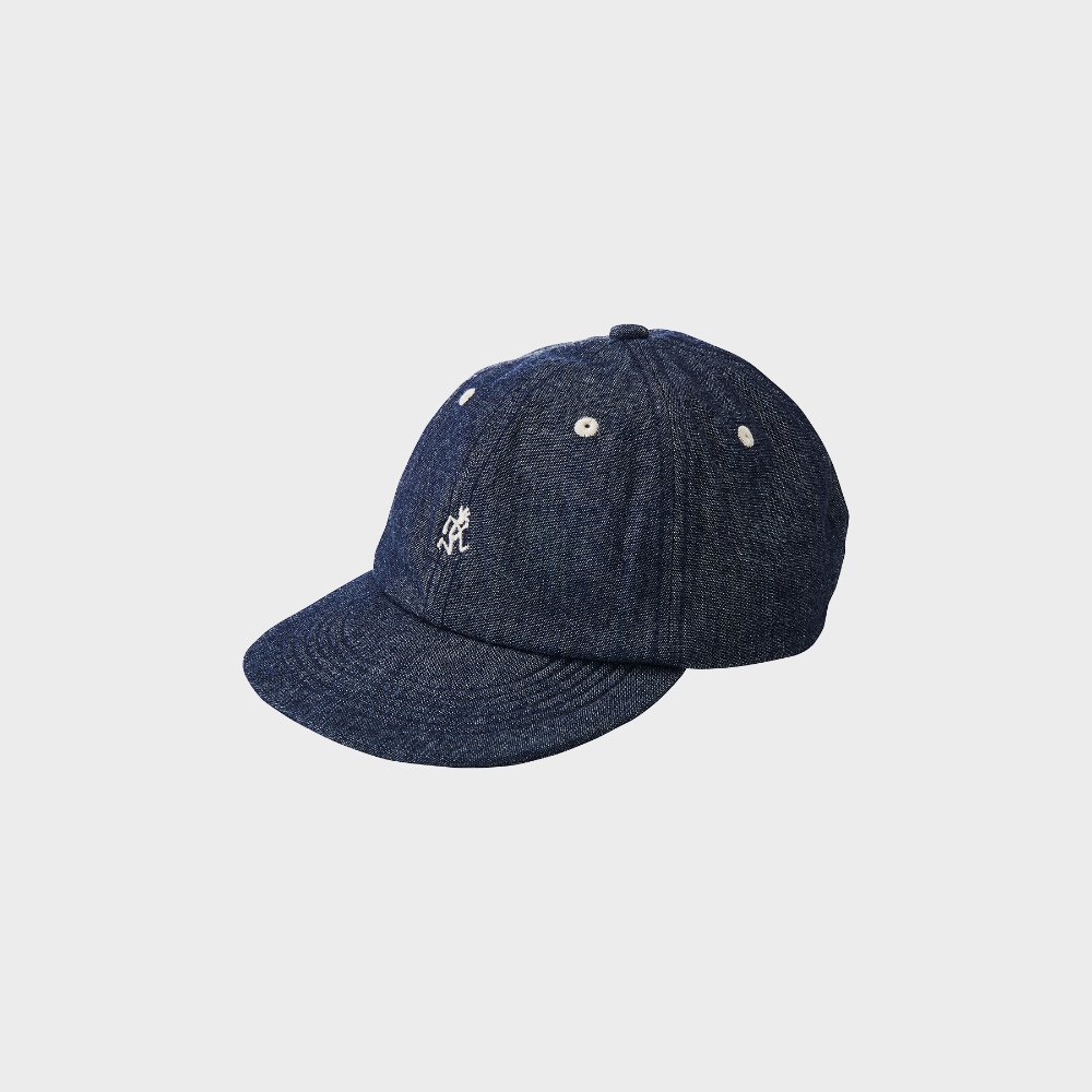 Light Denim Umpire Cap (One Washed)