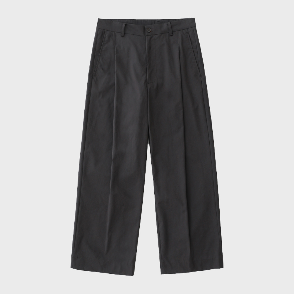 Reception 1T Set-Up Wide Pants (Charcoal)
