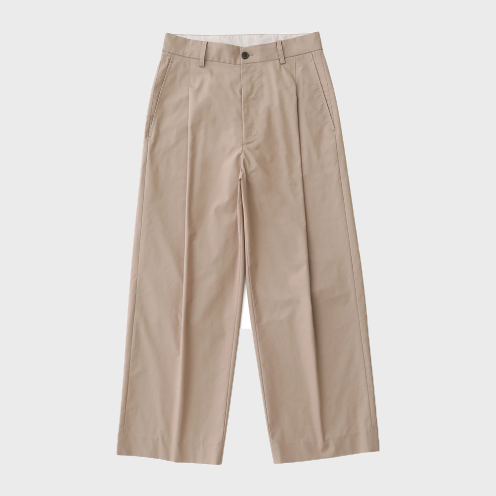 Reception 1T Set-Up Wide Pants (Light Beige)
