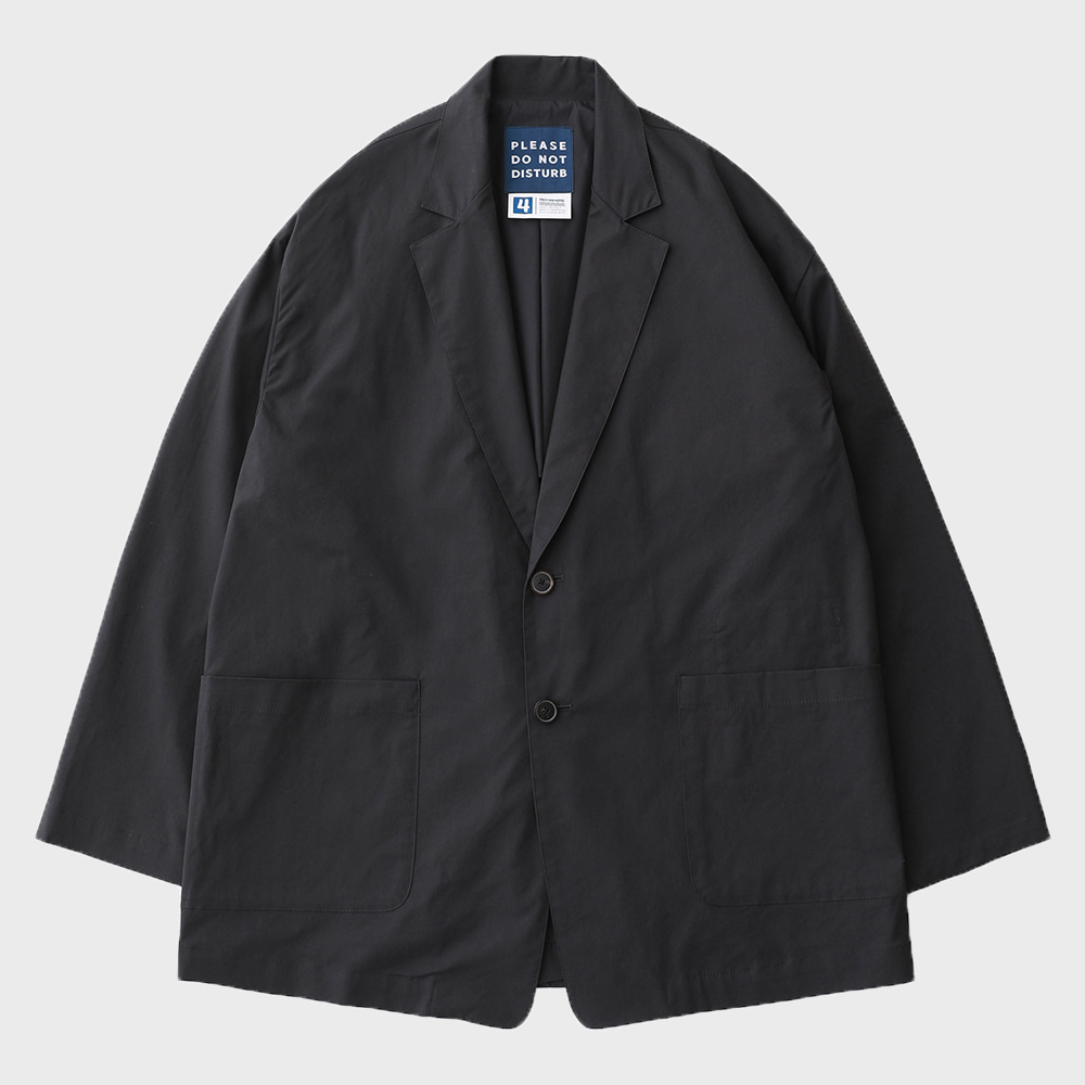 Reception 2B Oversized Set-Up Easy JAcket (Charcoal)
