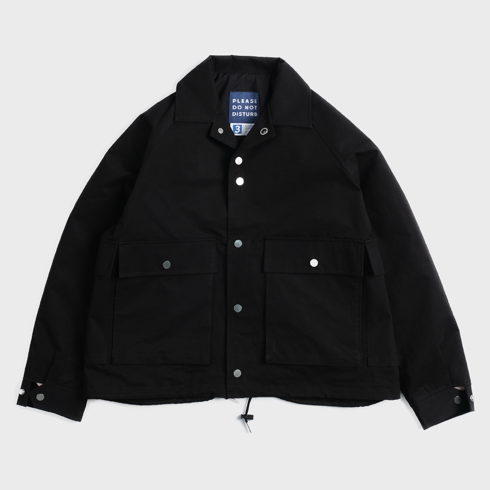 Oversiezed Multi Pocket Blouson (Black)