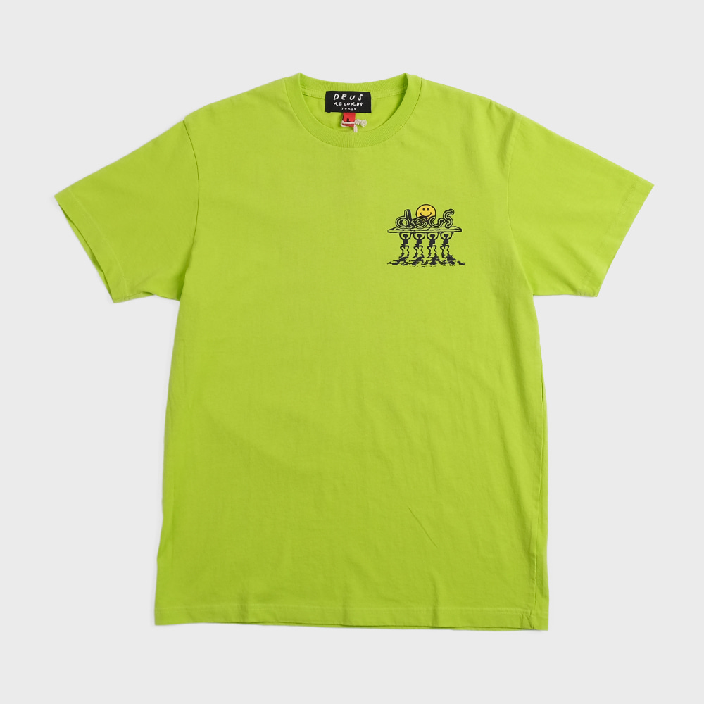 Bench Press Tee (Lime Punch)
