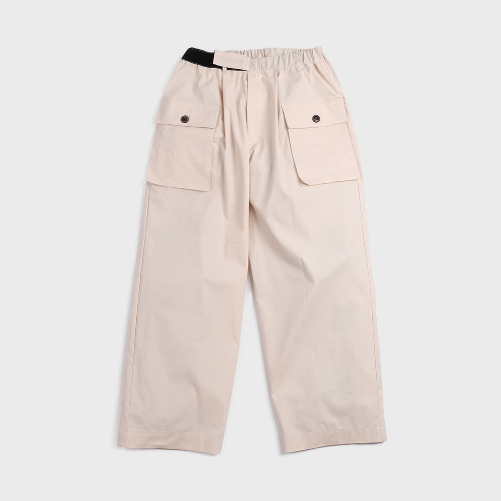 Pant For Mankind Velcro Type  (Ecru)