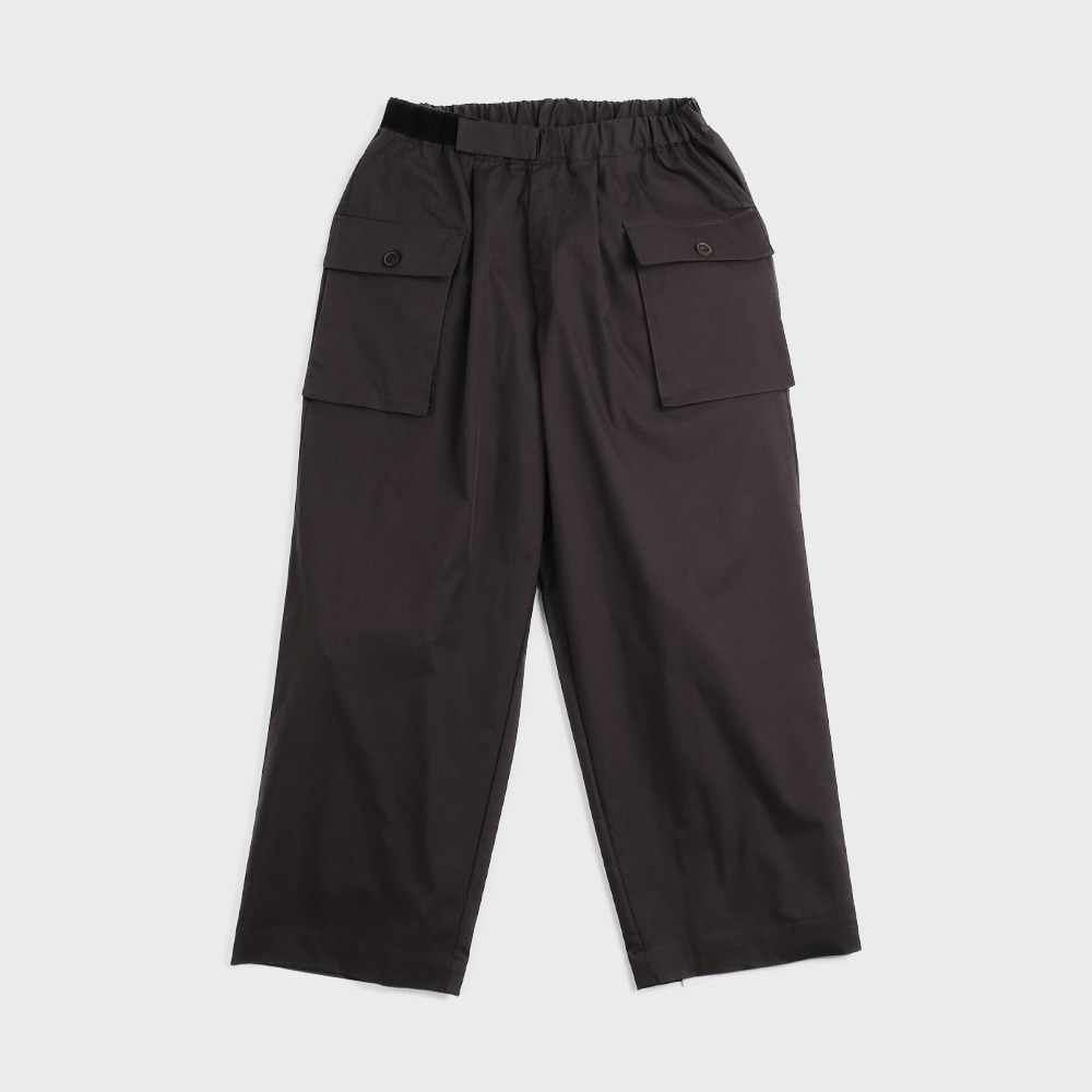 Pant For Mankind Velcro Type  (Charcoal)