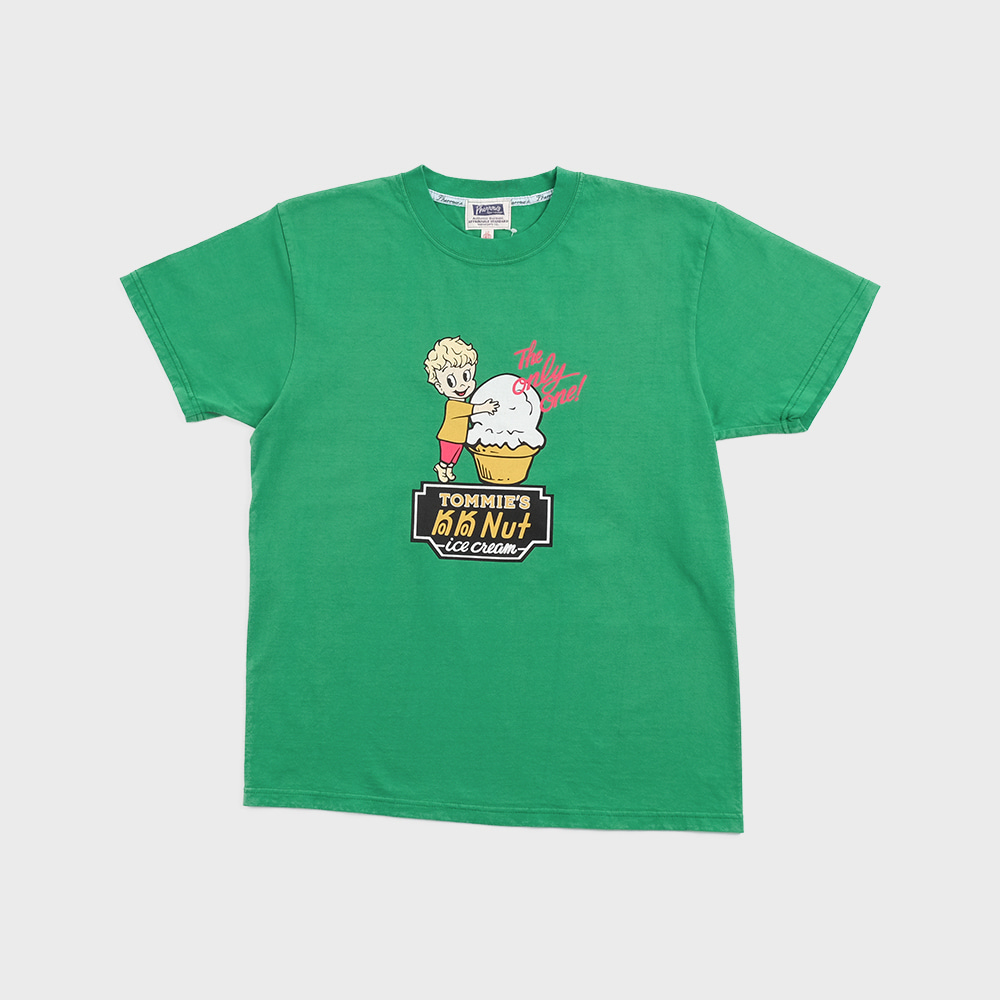 20S-PT8 Ice Cream S/S T-Shirts (K.Green)