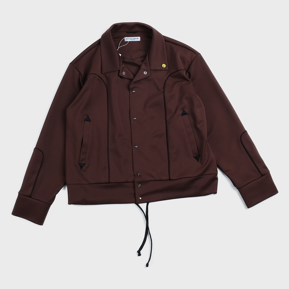New Generation Western Track Jacket (Brown)
