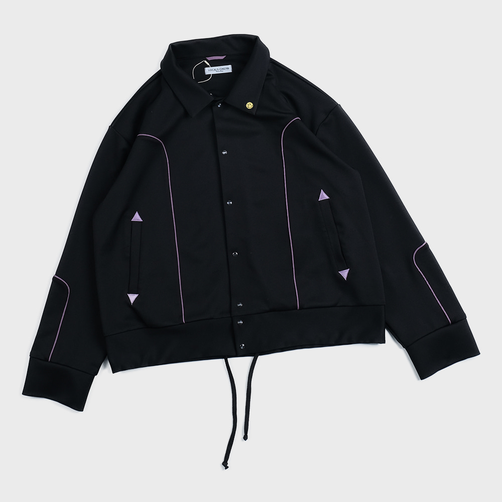 New Generation Western Track Jacket (Black)