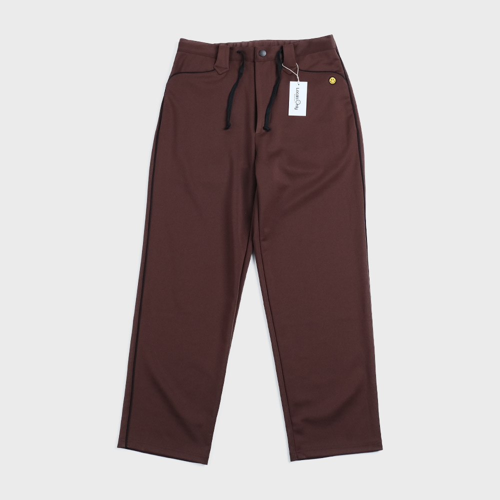 New Generation Western Track Pants (Brown)