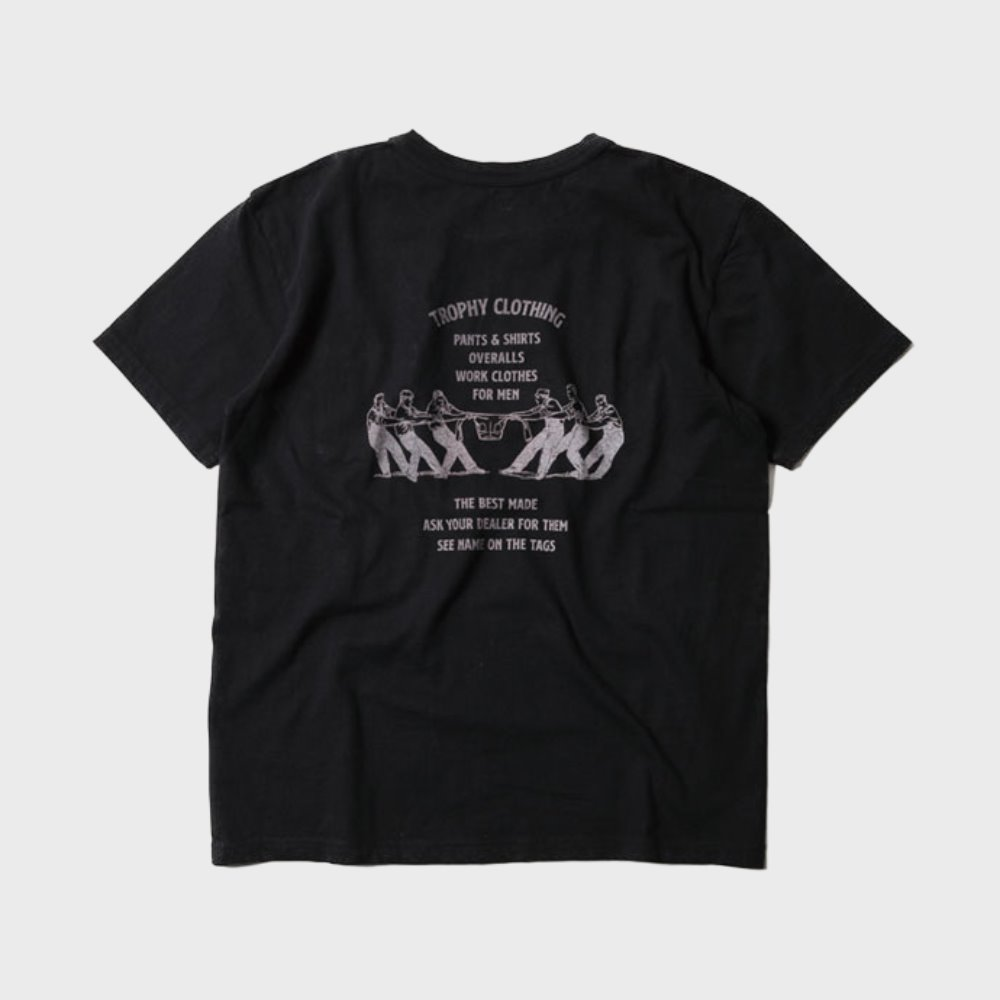 Workers Logo Loop Wheel Tee (Black)