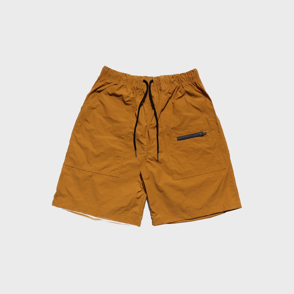 SNDPPR Nylon Easy Shorts (Mustard)