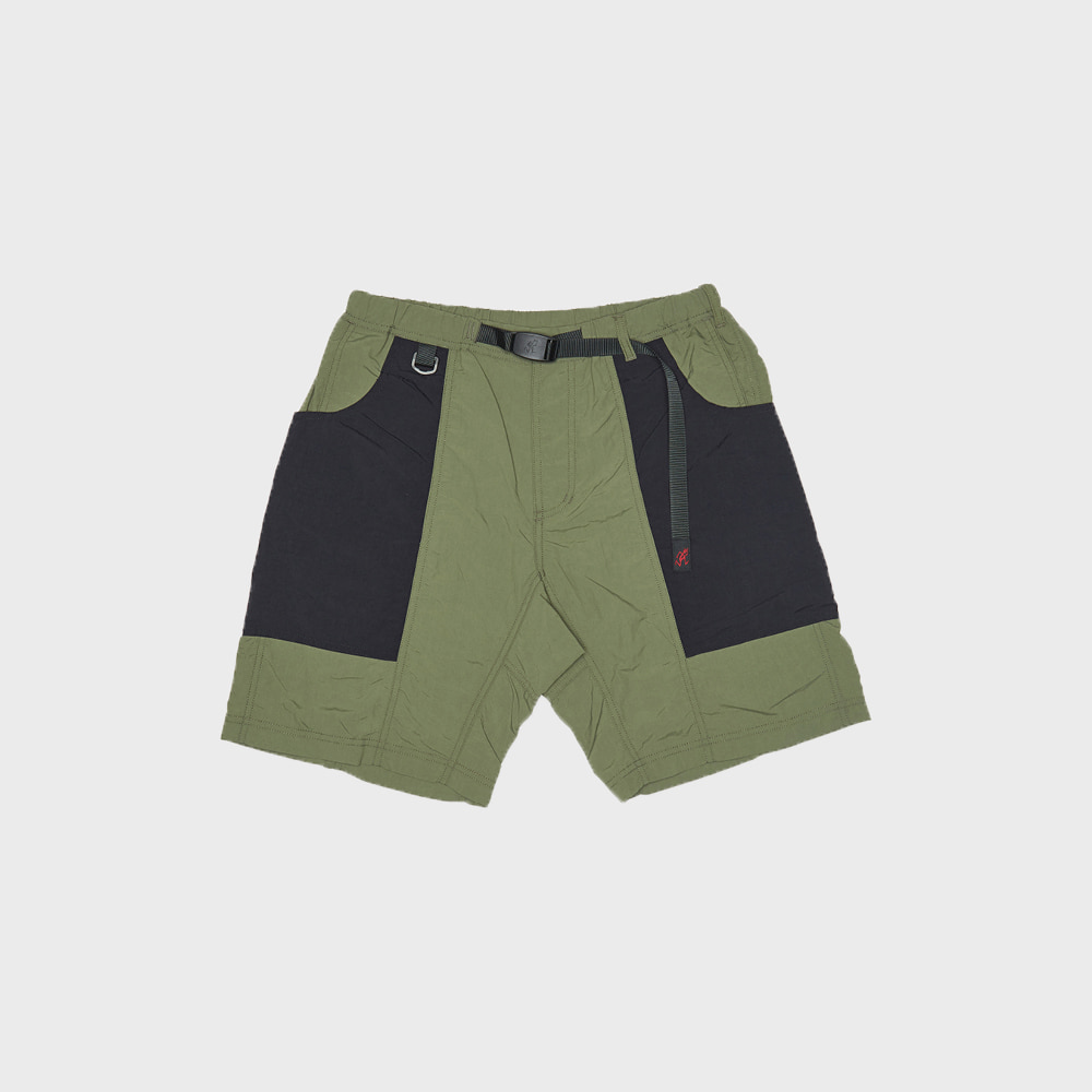 Shell Gear Shorts (Black x Olive)