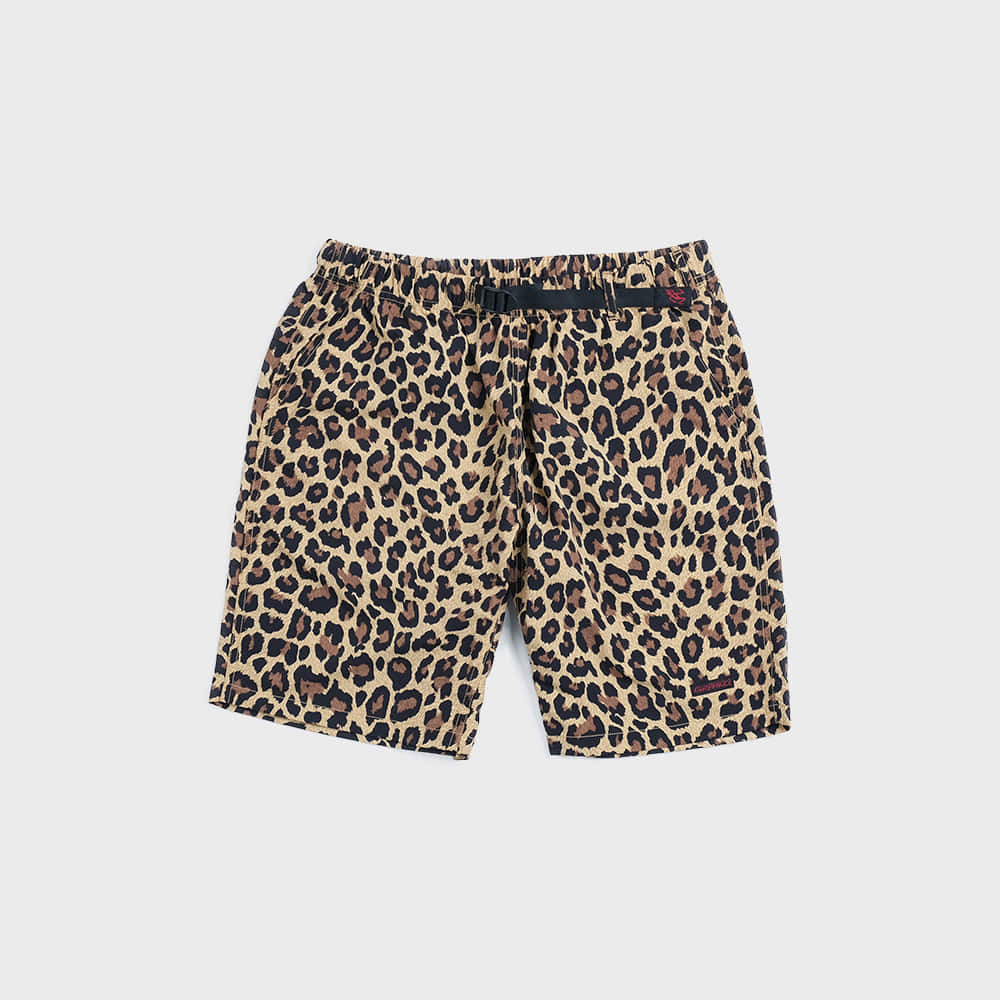 Shell Packable Shorts (Leopard)