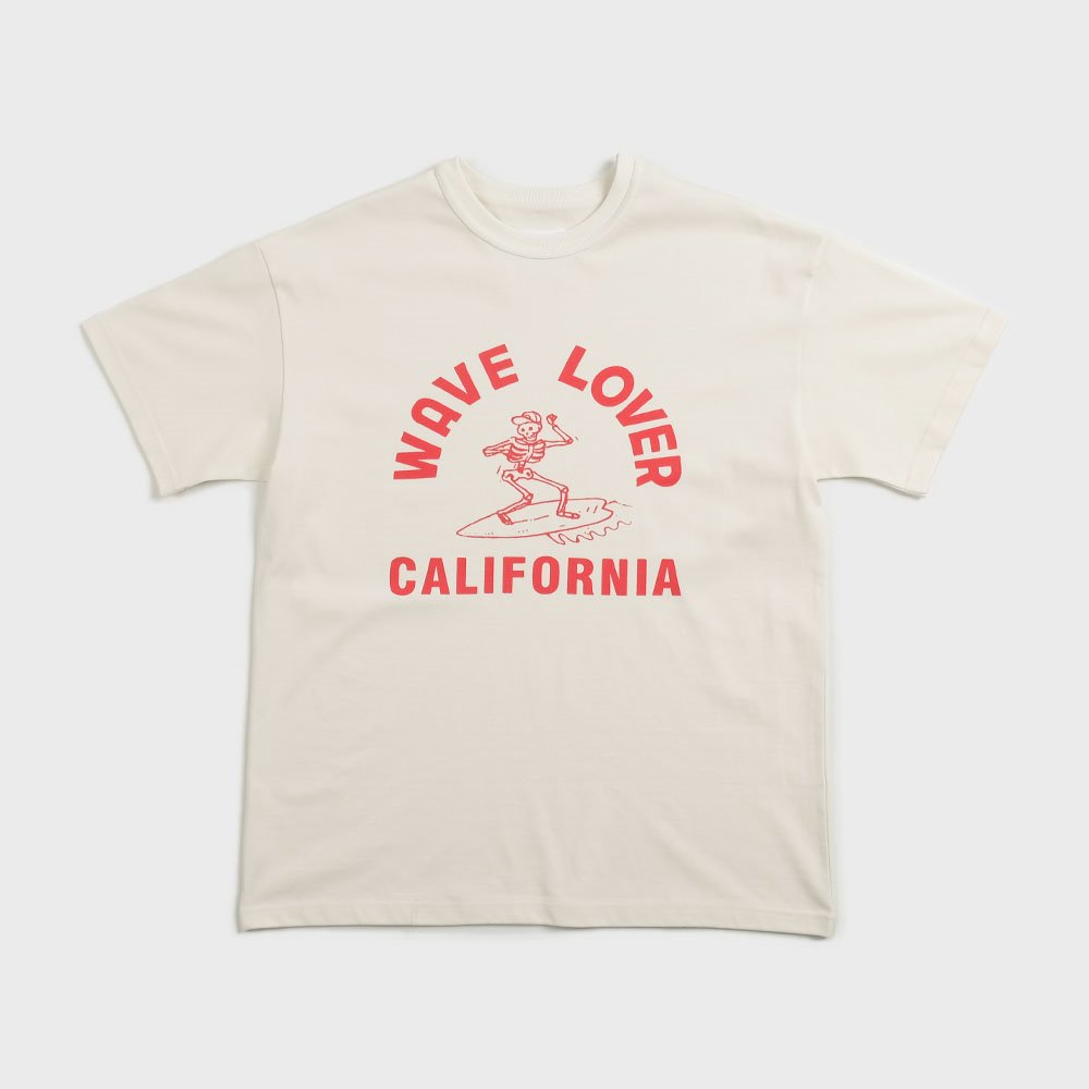 Wave Lover T-Shirts (off white)