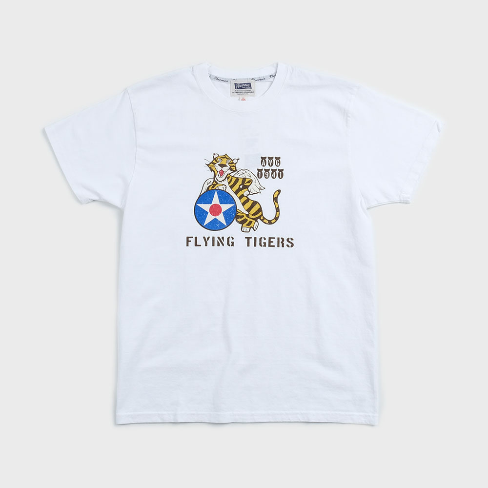 20S-PT12 Flying Tiger (White)
