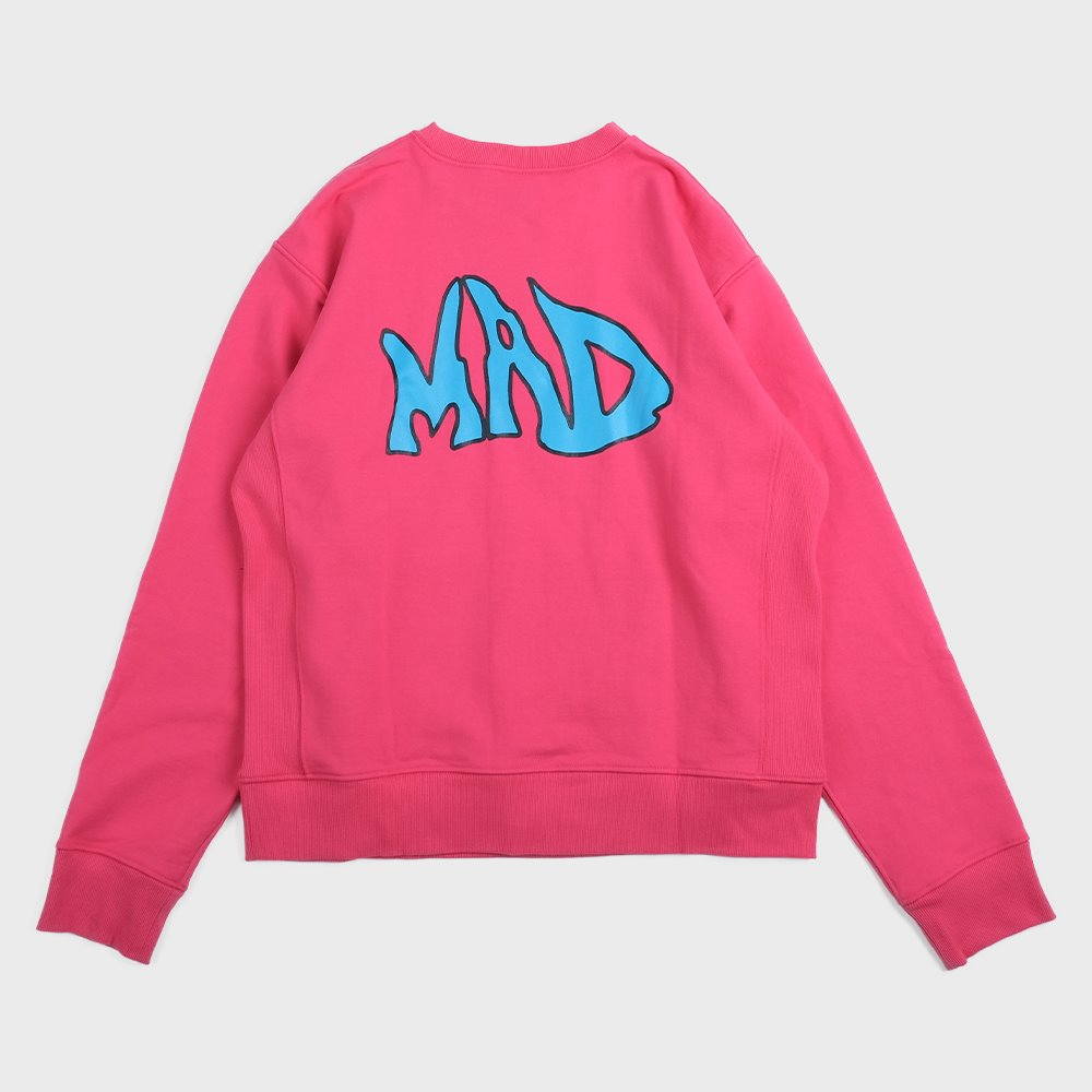 MAD pocket sweat shirts (Pink)