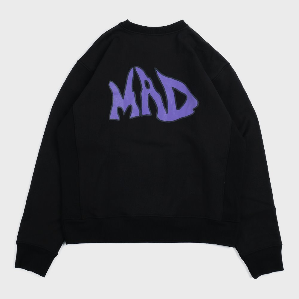 MAD pocket sweat shirts (Black)