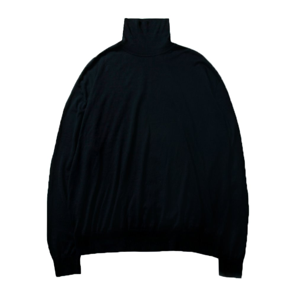 High Gauge Turtleneck - Navy