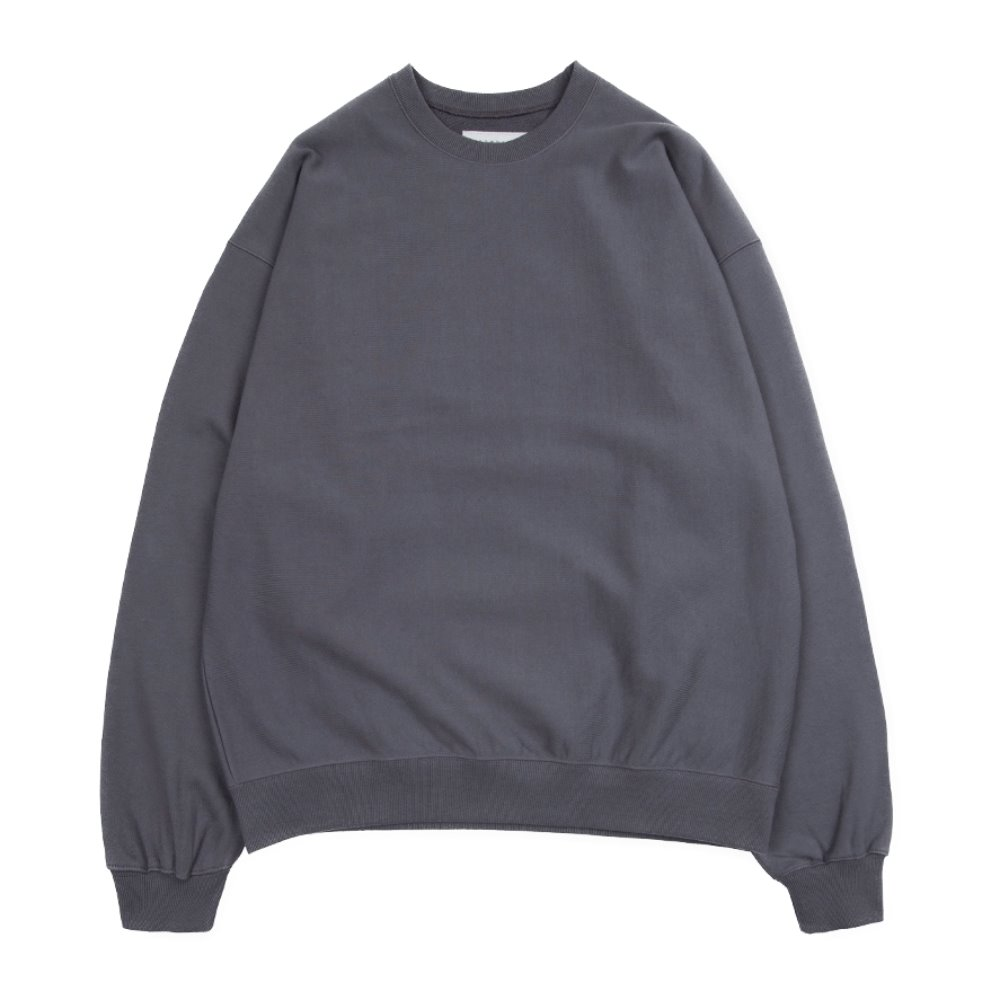 Hard Twist Sweat Shirt (Charcoal)