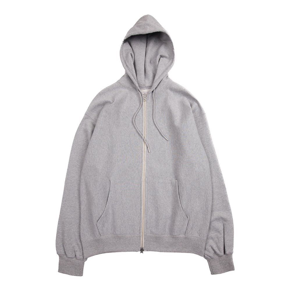 Hood Zip up (Grey)