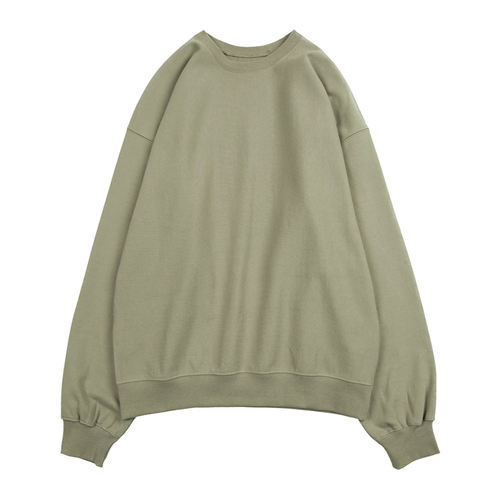 Hard Twist Sweat Shirt (Light Olive)
