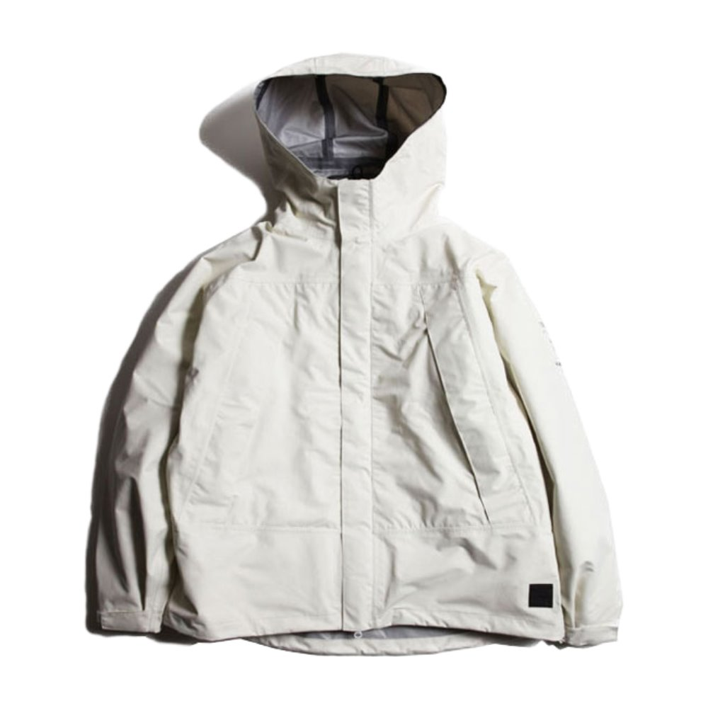 """MONOCHROME"" Level 6 All Weather Jacket (White)"