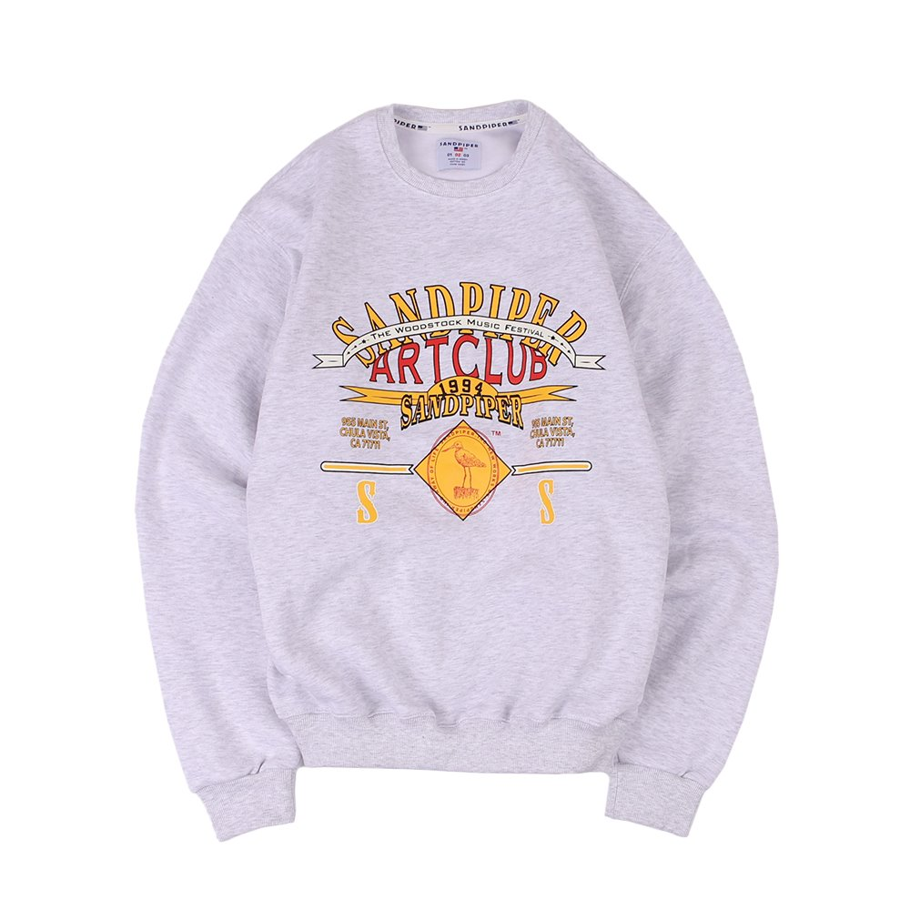 Art Club Sweat Shirts (W.Melange)