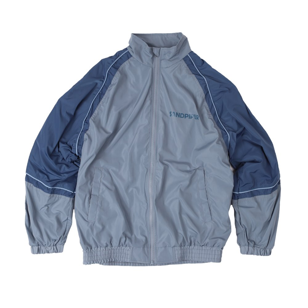 SNDPPR Track Jacket (Grey / Blue)