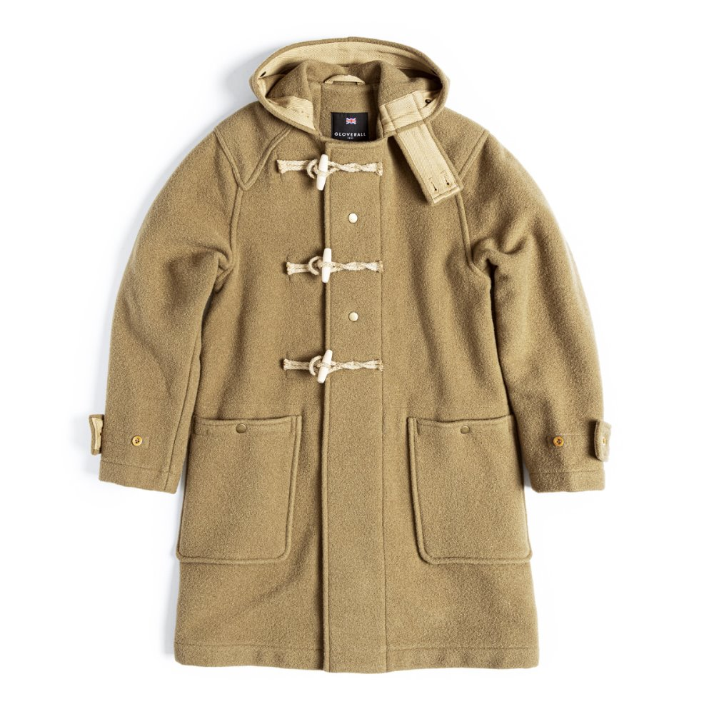 EASTLOGUE X GLOVERALL Monty Duffle Coat (Camel)