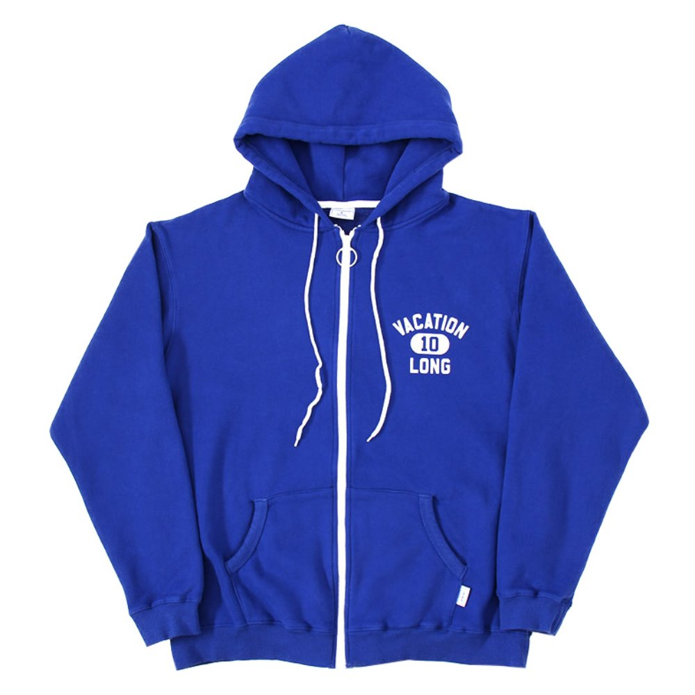 Team Courage hood zip-up (Blue)