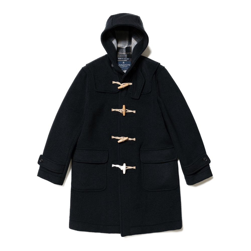 LONDON TRADITION Mens Erica Duffle Coat (Navy SBB)
