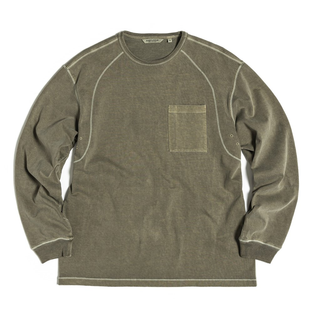 Cover Stitch T-Shirts - Olive