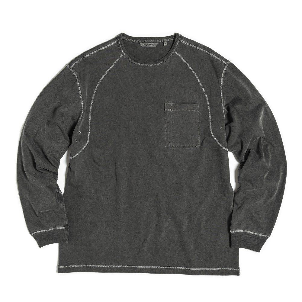 Cover Stitch T-Shirts - Charcoal