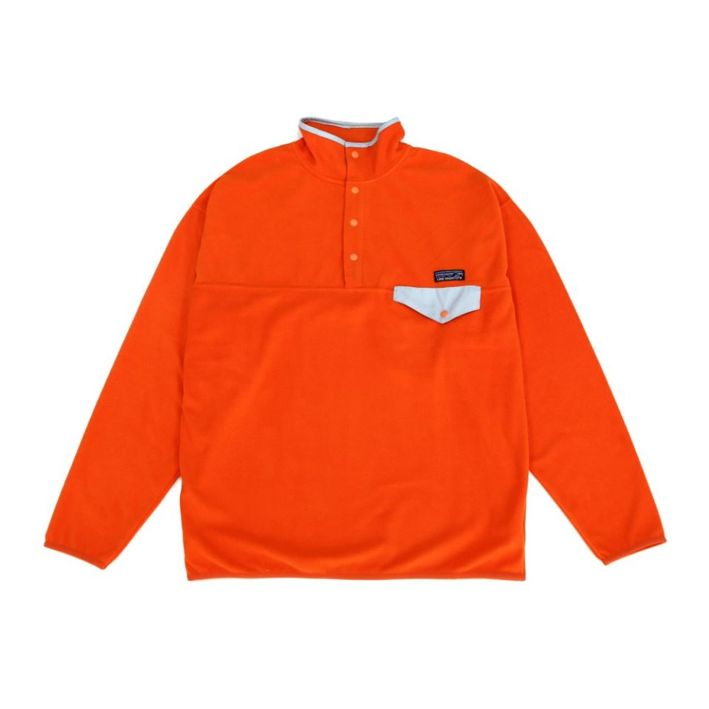 90s Homeboy Fleece Snap-T - ORANGE