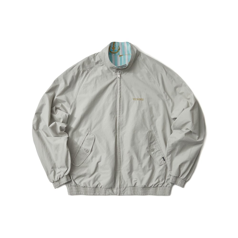 REVERSIBLE GARDEN JACKET - L.GREY
