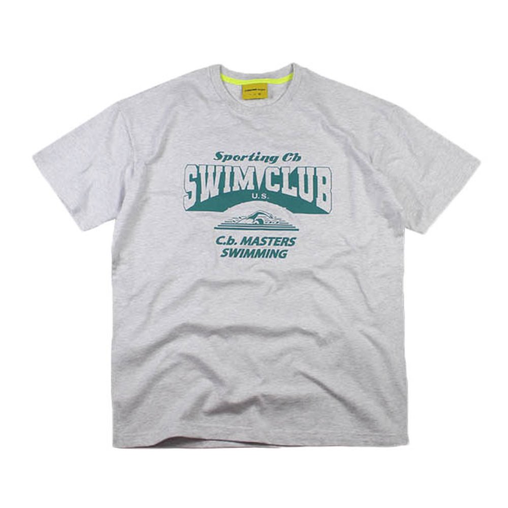 SWIMMING T - Ash Grey