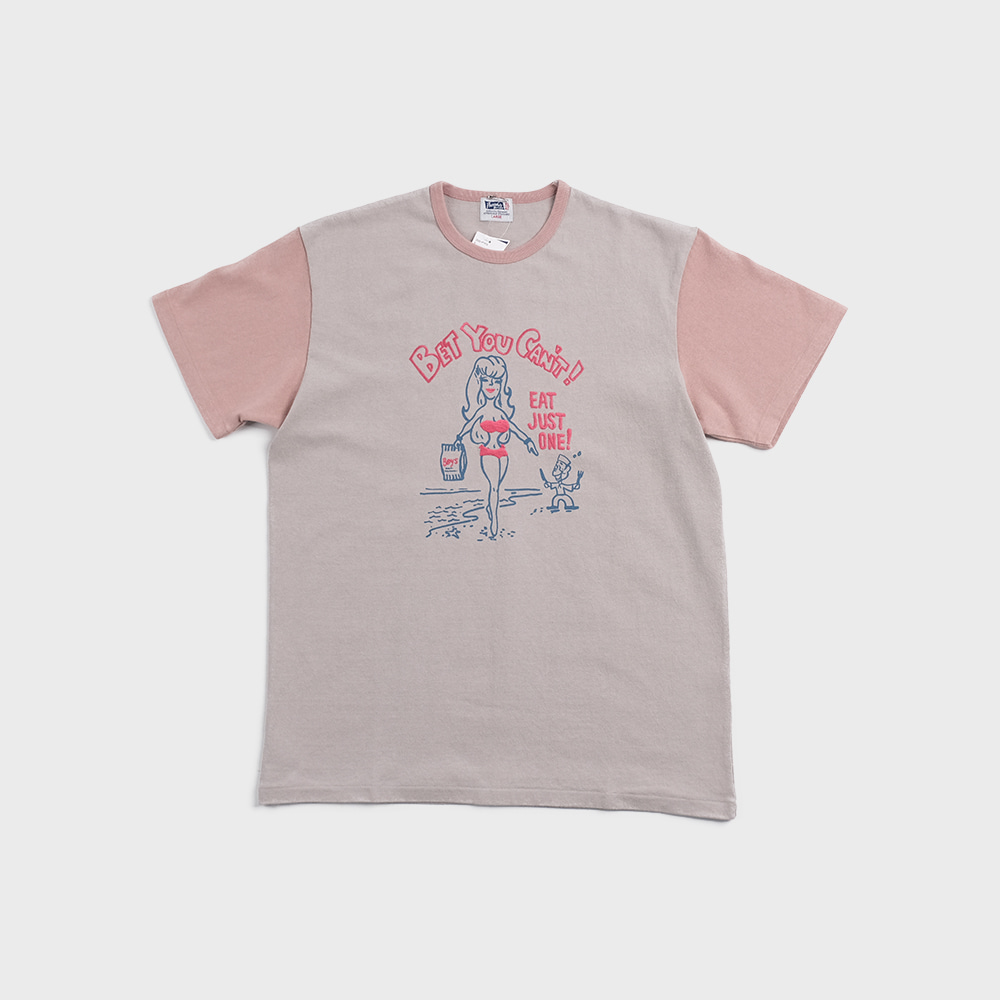 20S-PTP3 Bet You Can't Tee (L.Green x L.Pink)