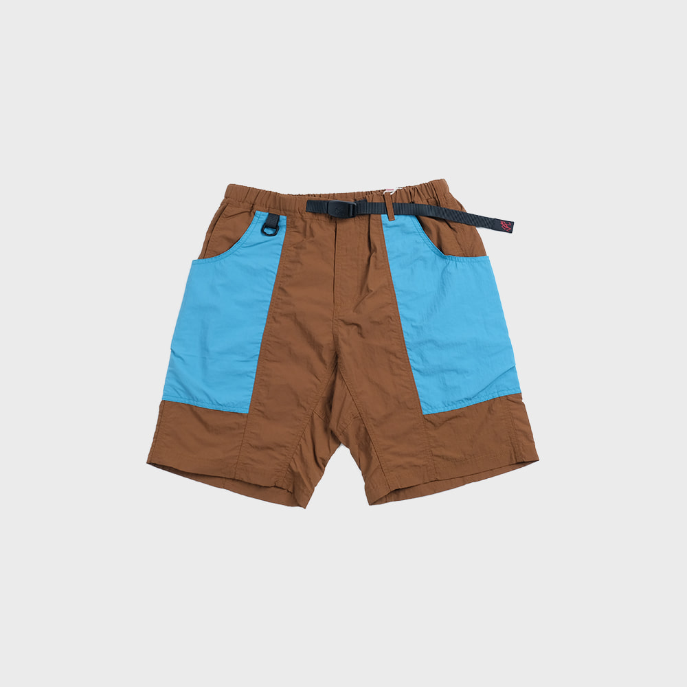 Shell Gear Shorts (Aqua x Mocha)