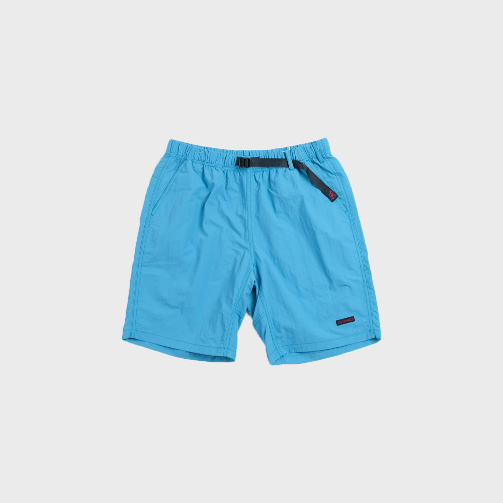 Shell Packable Shorts (Aqua)