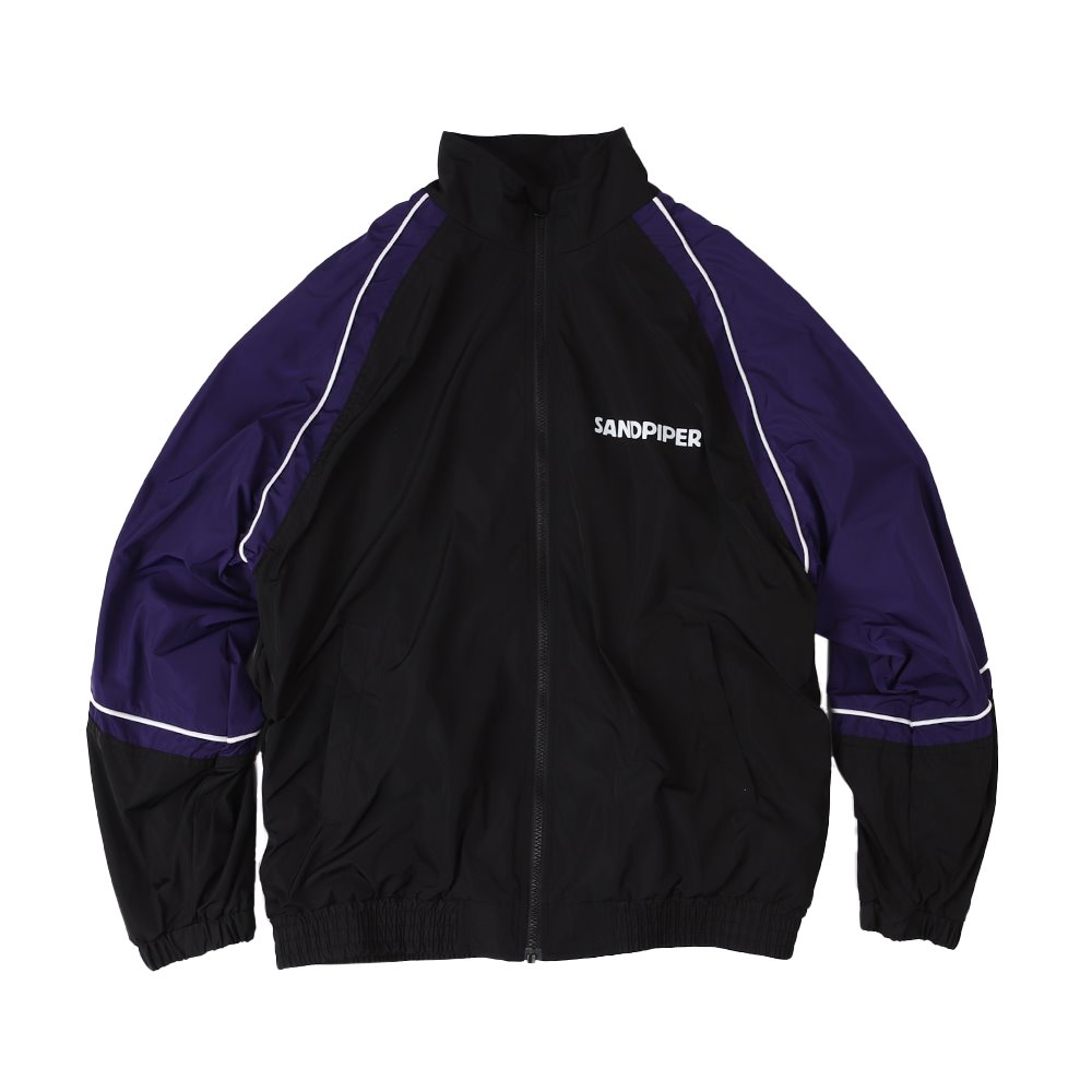 SNDPPR Track Jacket (Black / Purple)