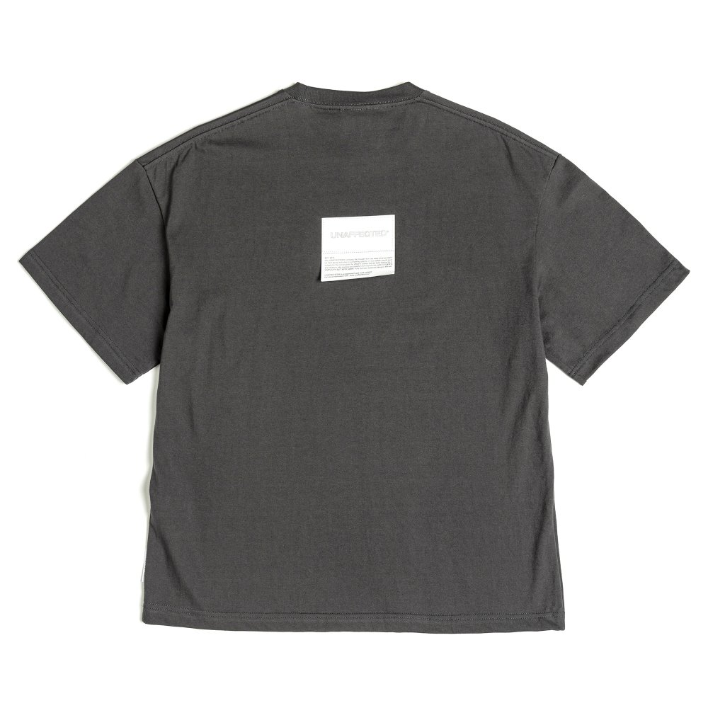 Logo Patch T-Shirts - Charcoal