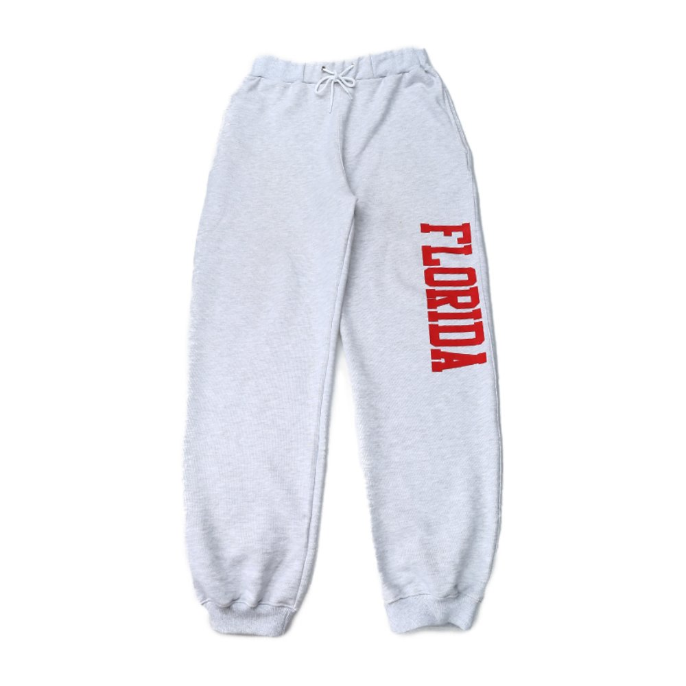 Longvaca. In Florida Sweat Pants - Melange Grey