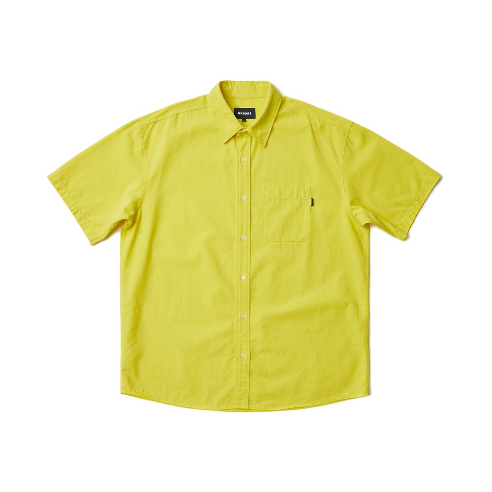 BASIC SS SHIRTS - Yellow