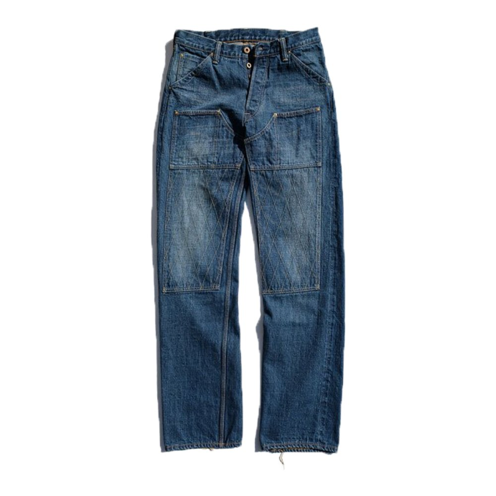 1606H Heritage W Knee STD Dirt Denim
