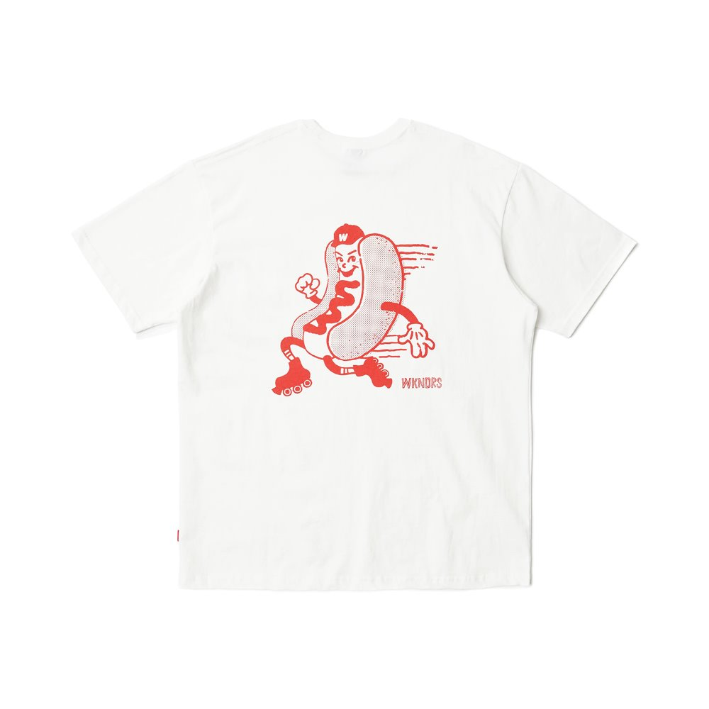 HOTDOG SS T-SHIRT - Red