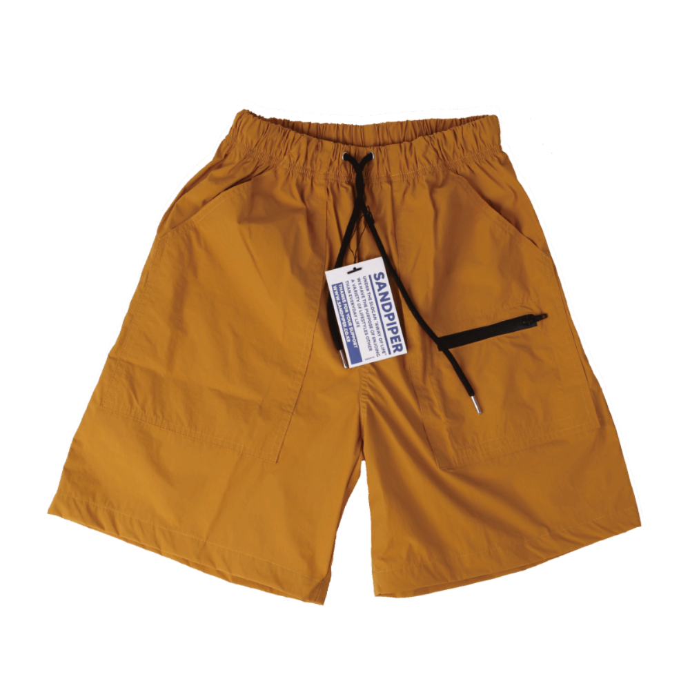 SNDPPR Nylon Easy Shorts - Mustard